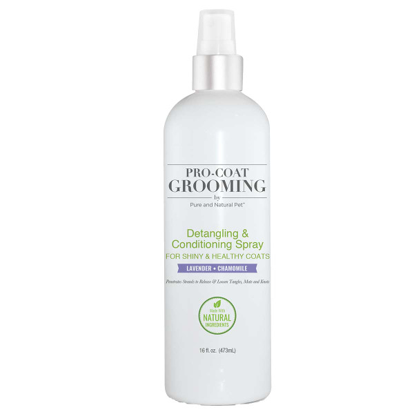Pro Coat Grooming Lavender and Chamomile Conditioning Spray 16 oz