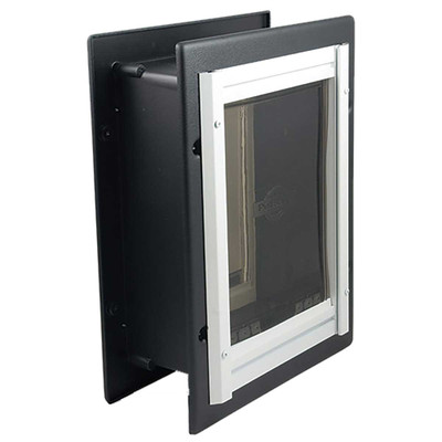 Pet Safe Wall Entry Pet Door Med 8 inches by 11 inches
