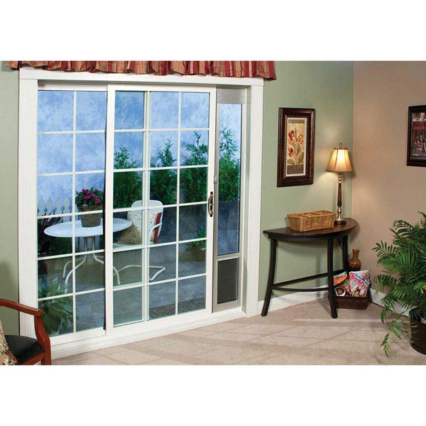 PetSafe Tall Freedom Patio Panel Pet Doors Large 10 inches by 16 inches at Ryan's Pet Supplies
