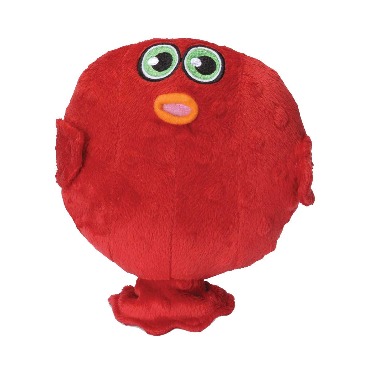 Hear Doggy Plush Blow Fish Small Toy Dog 7 inches