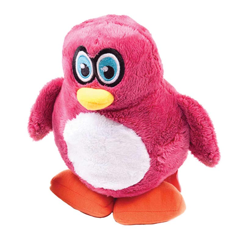 Large 9 inch Hear Doggy Plush Penguin Toy for Dogs