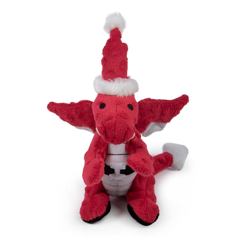 Small goDog Holiday Santa Dragon