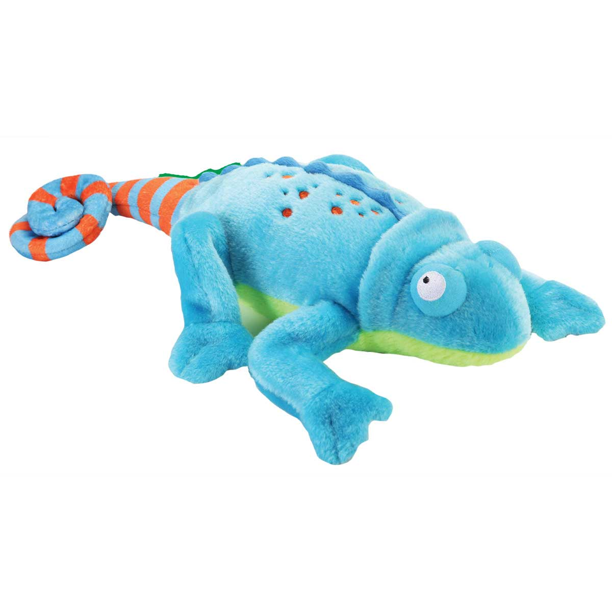 goDog Amphibianz Chameleon Dog Toy with Chew Gaurd 6 inch