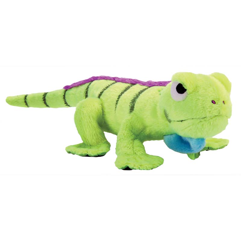 goDog Amphibianz Iguana Stuffed Dog Toy with Chew Guard at Ryan's Pet Supplies