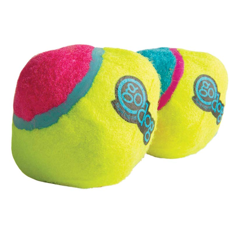 2 Pack Small goDog Retrieval ScrewBallz available at Ryan's Pet Supplies