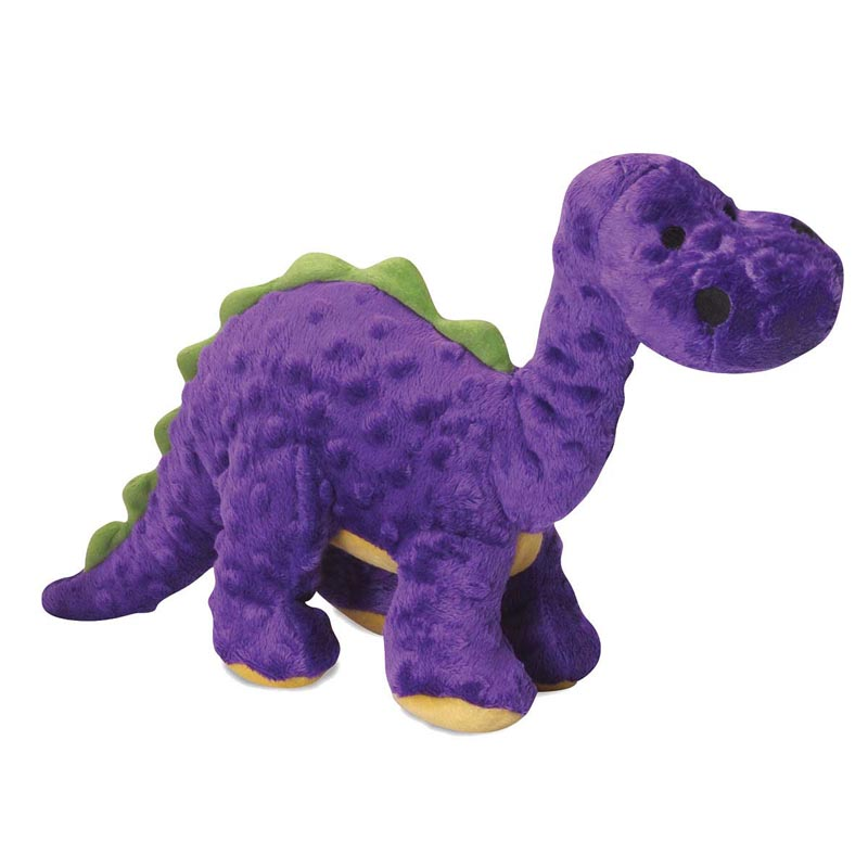 goDog Just For Me Purple Bruto With Chew Guard Toy for Dogs 7.5 inch