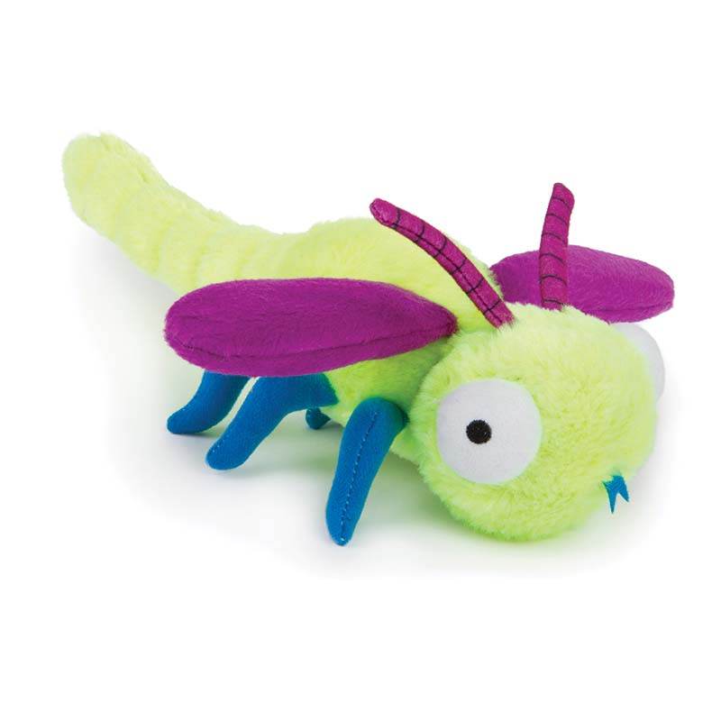 Small GoDog Bugs Dragonfly Dog Toy at Ryan's Pet Supplies