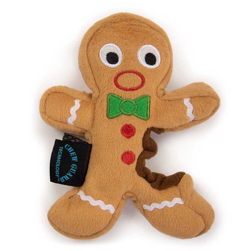 goDog Holiday Gingerbread Man Small