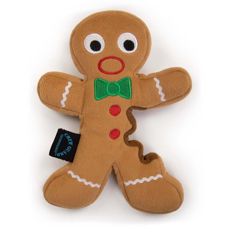 Large goDog Holiday Gingerbread Man