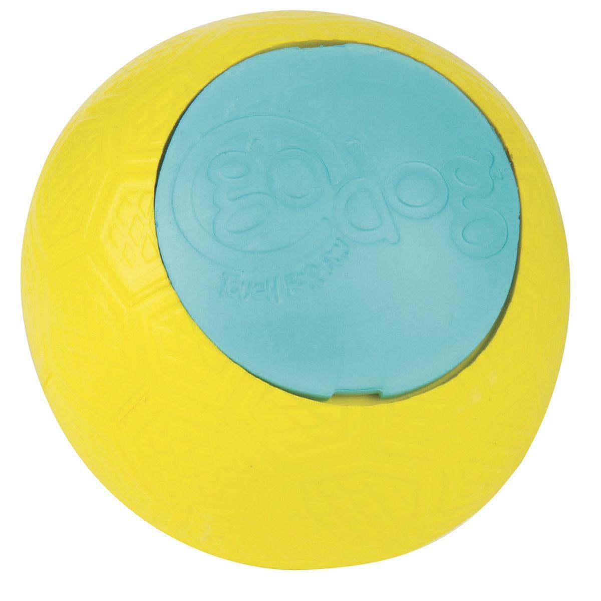 goDog RhinoPlay Beast jr Dog Toy - Play Fetch and More