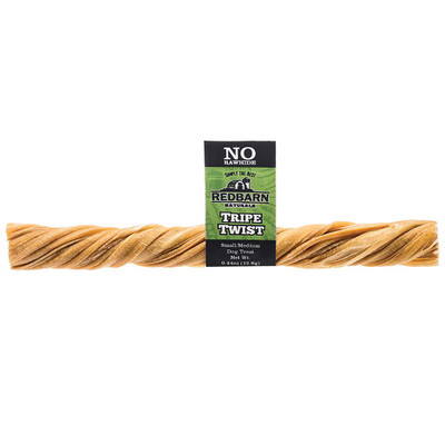 RedBarn Tripe Twists Small 6 inch Rawhide Alternative Dog Treats