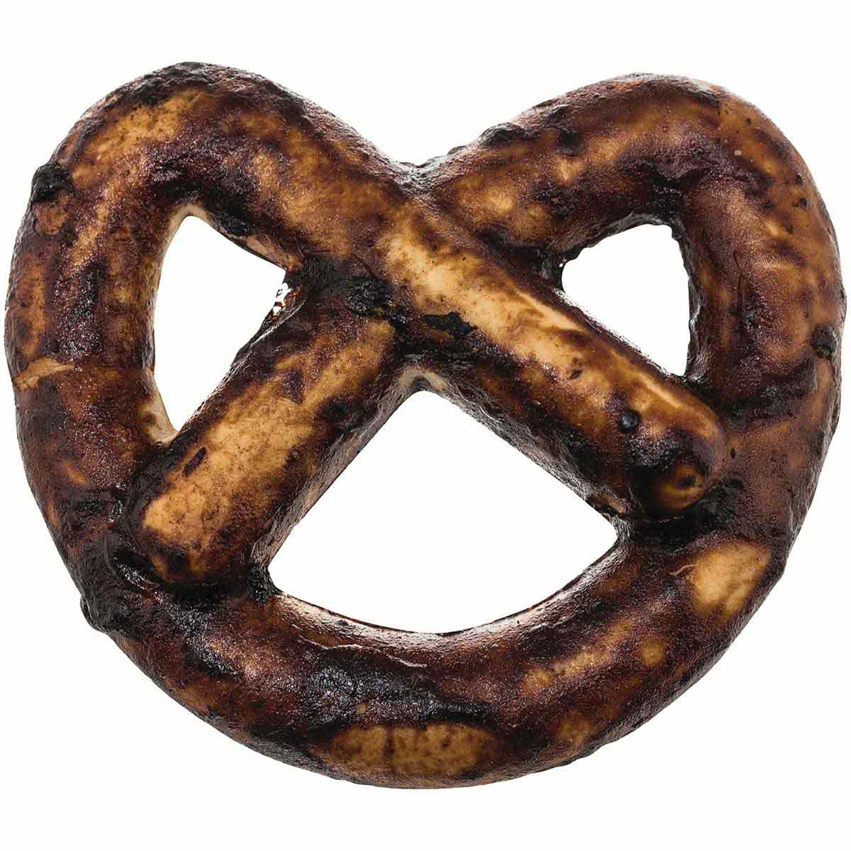 RedBarn Chew-A-Bulls Mini Pretzel Beef Treat for Dogs - 3.25 inch