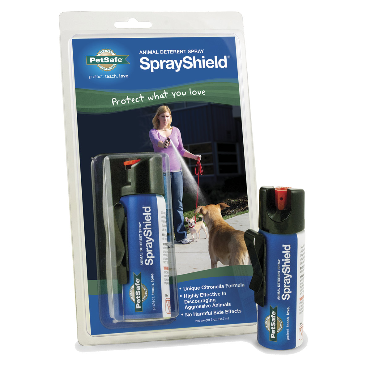 SprayShield Animal Deterrent Spray with Citronella 3 oz