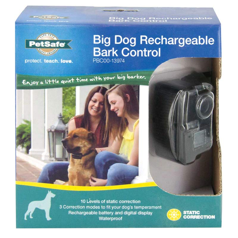 PetSafe Rechargeable Bark Collar for Big Dogs