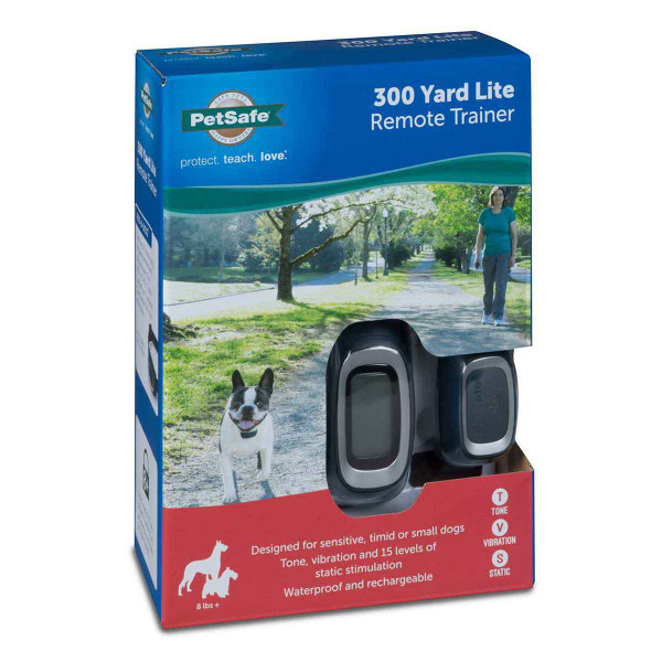 Side of PetSafe 300 Yard Lite Remote Trainer