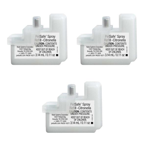 PetSafe Spray Refill Citronella 3 Pack