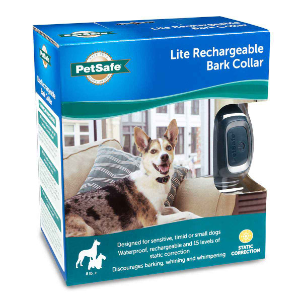 Side of PetSafe Lite Rechargeable Bark Collar