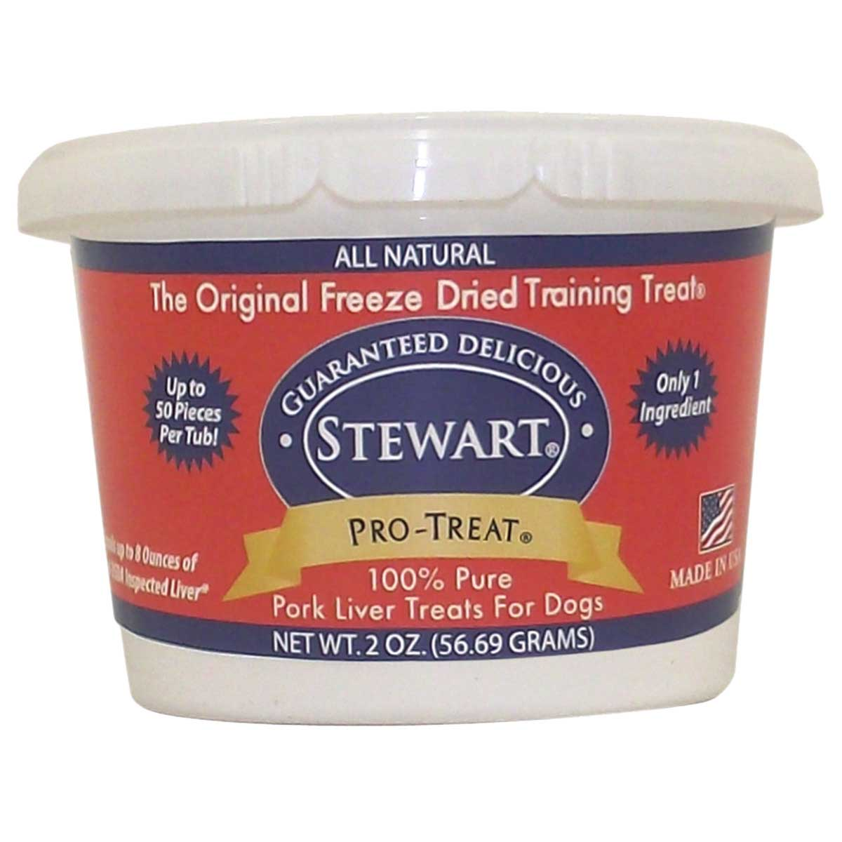 Stewart Pro-Treats For Dogs - Freeze Dried Pork Liver
