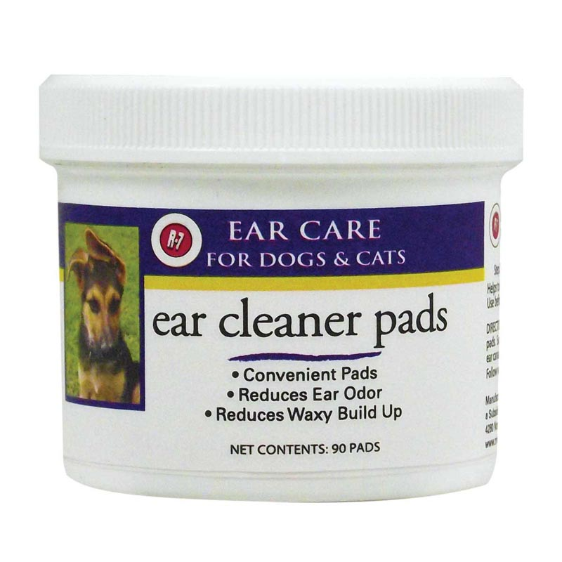 Miracle Care Ear Cleaner Pads for Cats and Dogs - 90 Count