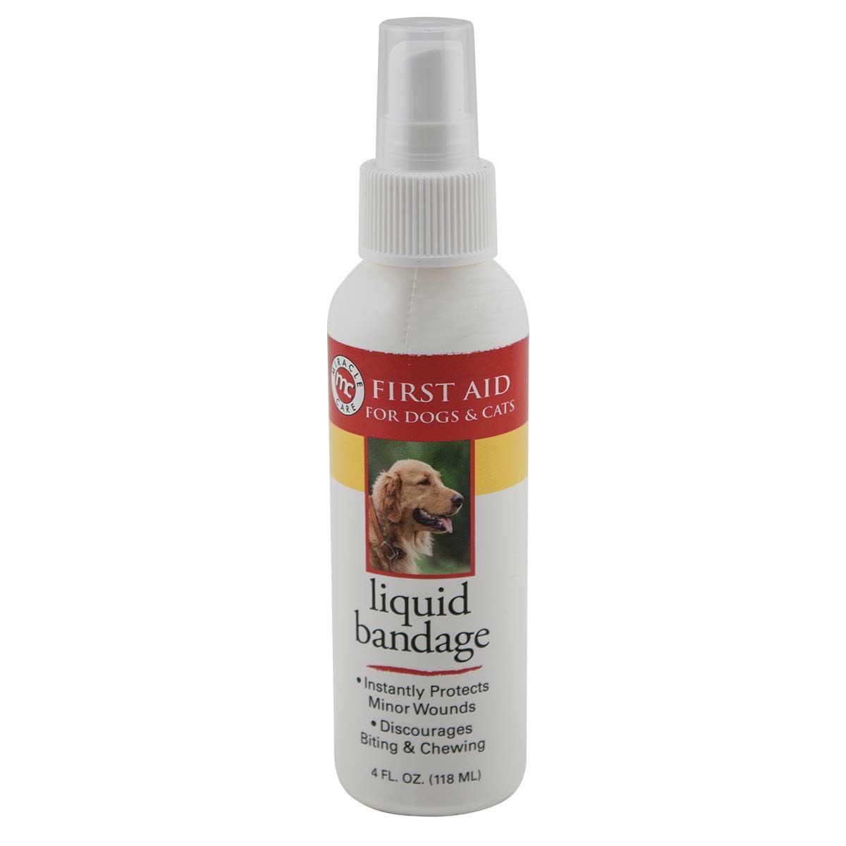 Miracle Care R-7 Liquid Bandage Spray 4 Oz at Ryan's Pet Supplies
