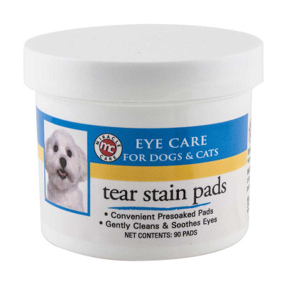 Miracle Care Eye Care Pads Clean Tear Stains on Dogs And Cats