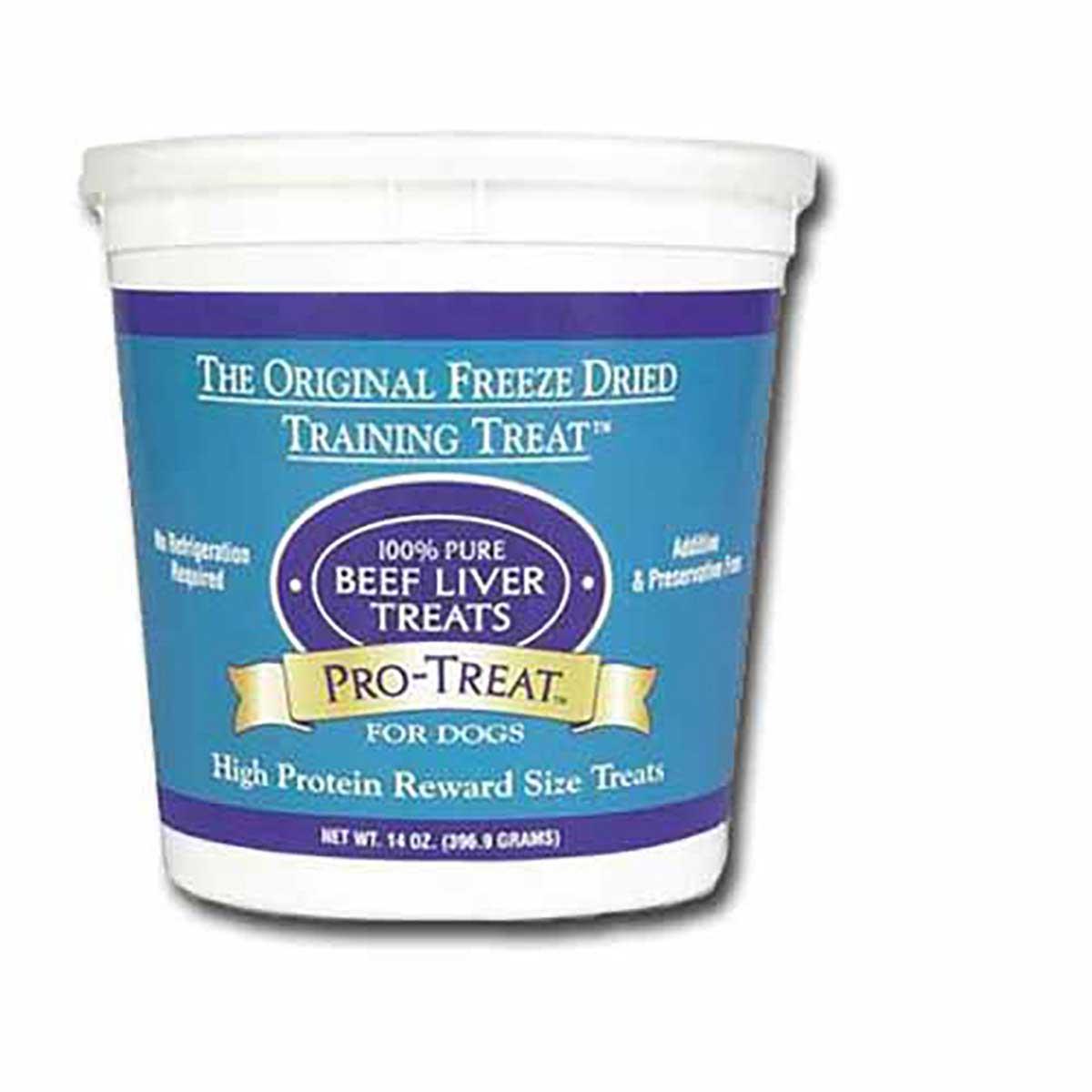 Stewart Dog Pro-Treats Freeze Dried Beef Liver 14 oz