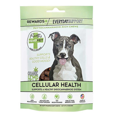 Reilly's Hemp Vet Everyday Rewards CBD Treats for Dogs 30 Count