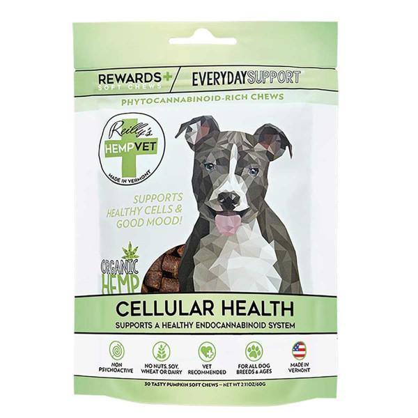 Reilly's Hemp Vet Everyday Rewards CBD Treats for Dogs 30 Count