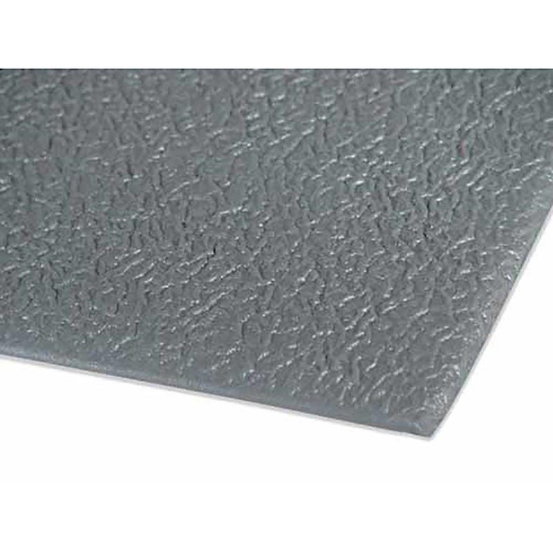 24 inches by 60 inches Ranco Gray Pebble Step Anti-Fatigue Mat for Groomers