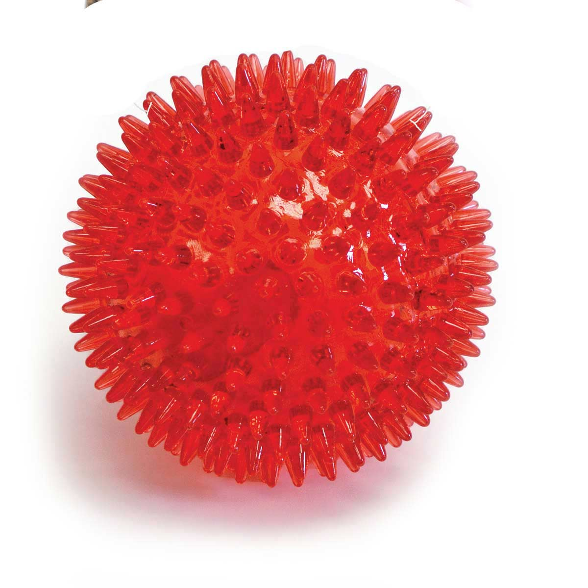 Gnawsome 3.5 inch Spikey Squeaker Ball Dog Toy