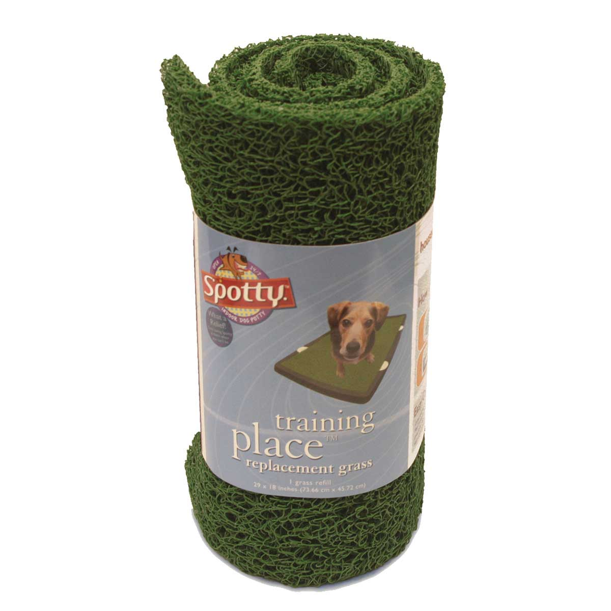 Spotty Training Place Indoor Dog Potty Replacement Grass