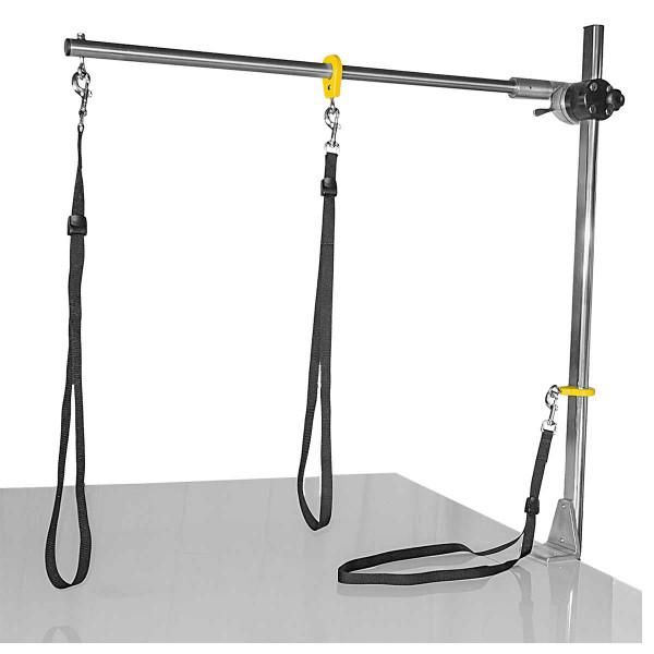 Grooming Loops hanging on Resco Grooming Post System