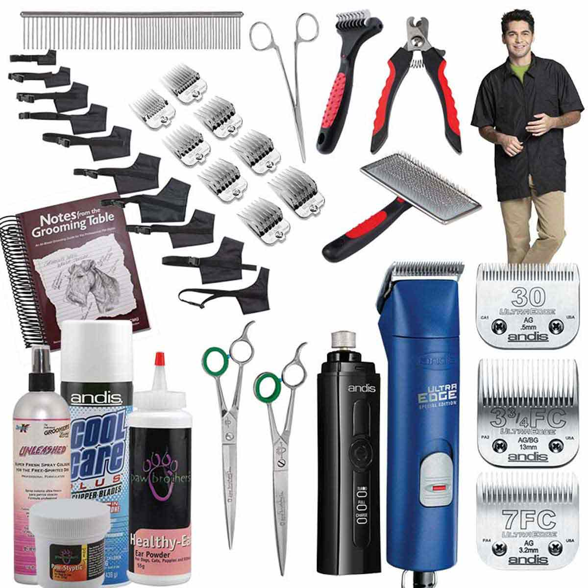 Andis Super 2 Speed Student Kit for Grooming