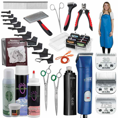 Andis Ultra Edge 2 Speed Clipper Grooming Student Kit