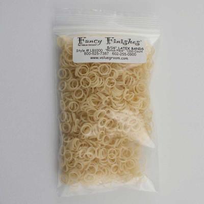 Latex Bands 5/16 inch Amber Bag of 1000 at Ryan's Pet Supplies