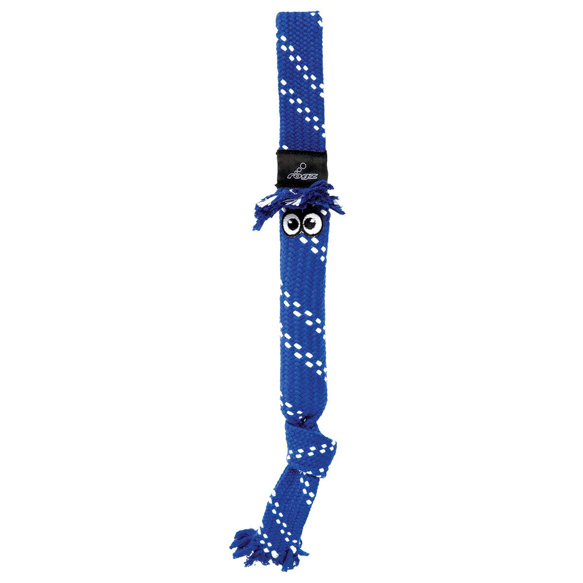 Blue Medium ROGZ Scrubz Fetch Toy for Dogs