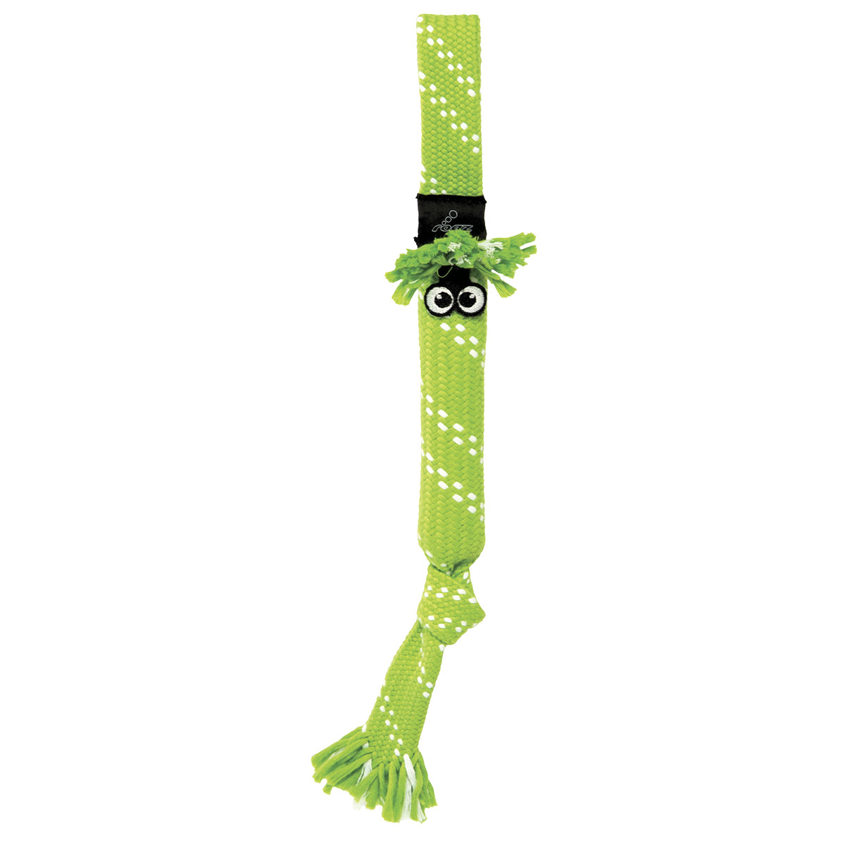 Green ROGZ Scrubz Large Tug Toy for Dogs