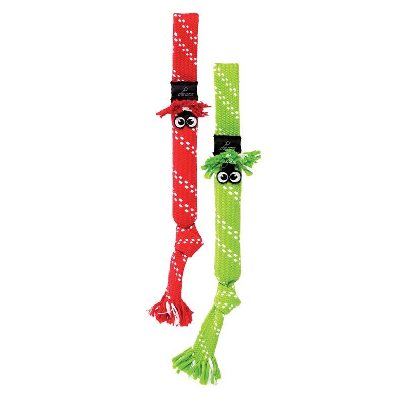 Medium Holiday ROGZ Scrubz Dog Toy