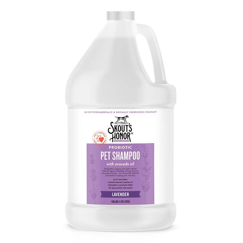 Skout's Honor Lavender Probiotic Shampoo Gallon at Ryan's Pet Supplies