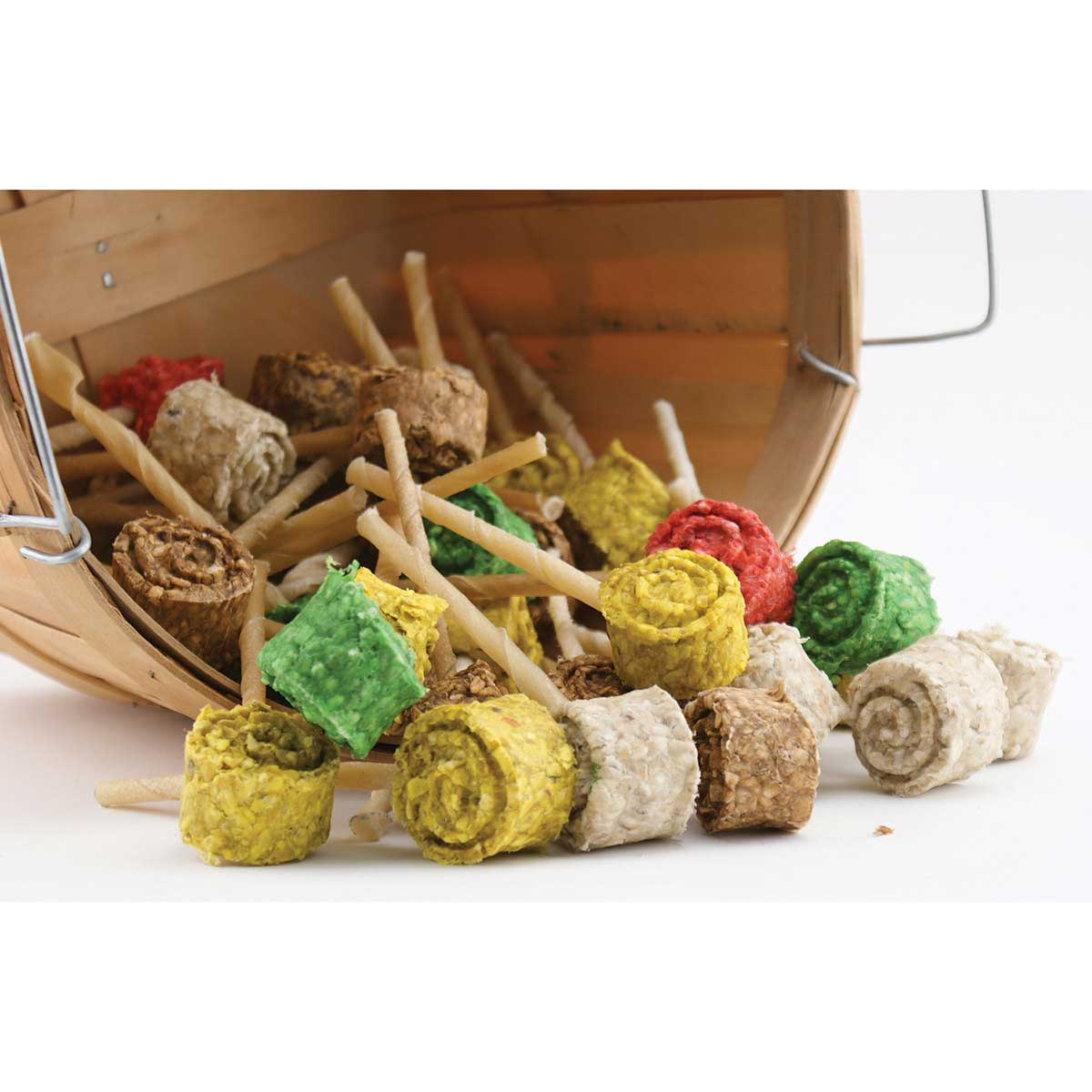 Rawhide Lollipop Chews for Dogs