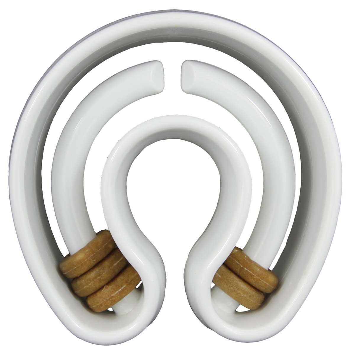 Starmark Treat Ringer Horseshoe Dog Toy