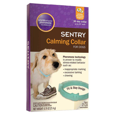 Sentry Calming Collars For Puppies and Dogs - Fits Necks Up To 28 inches