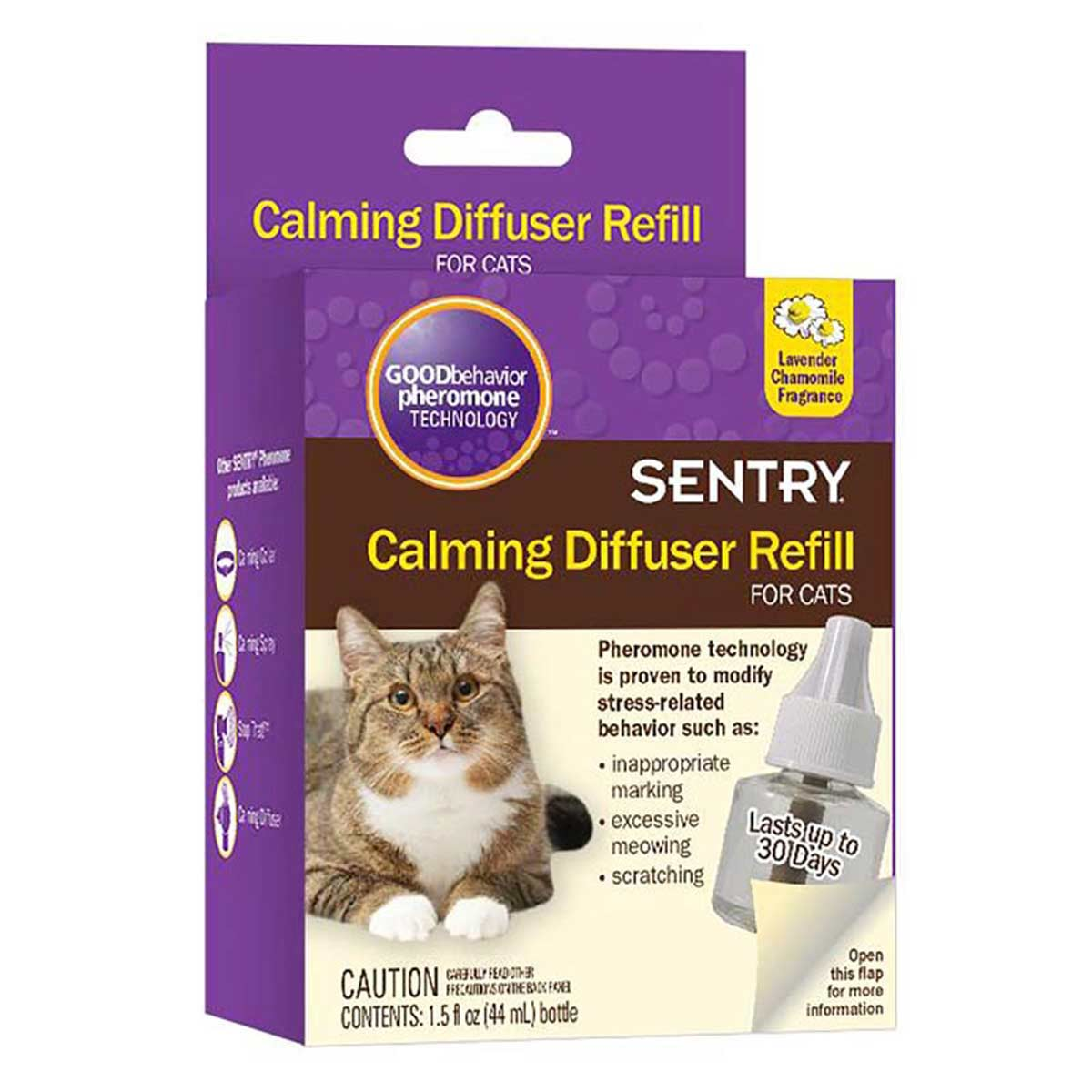 Sentry Calming Diffuser Refill for Kitty Cats 1.5 oz