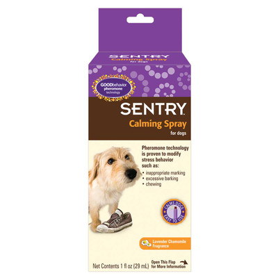 Sentry Calming Spray for Dogs 1 oz