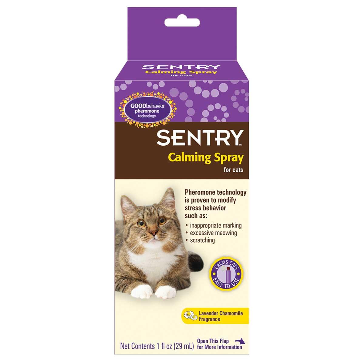 Sentry Calming Spray for Cats 1 oz
