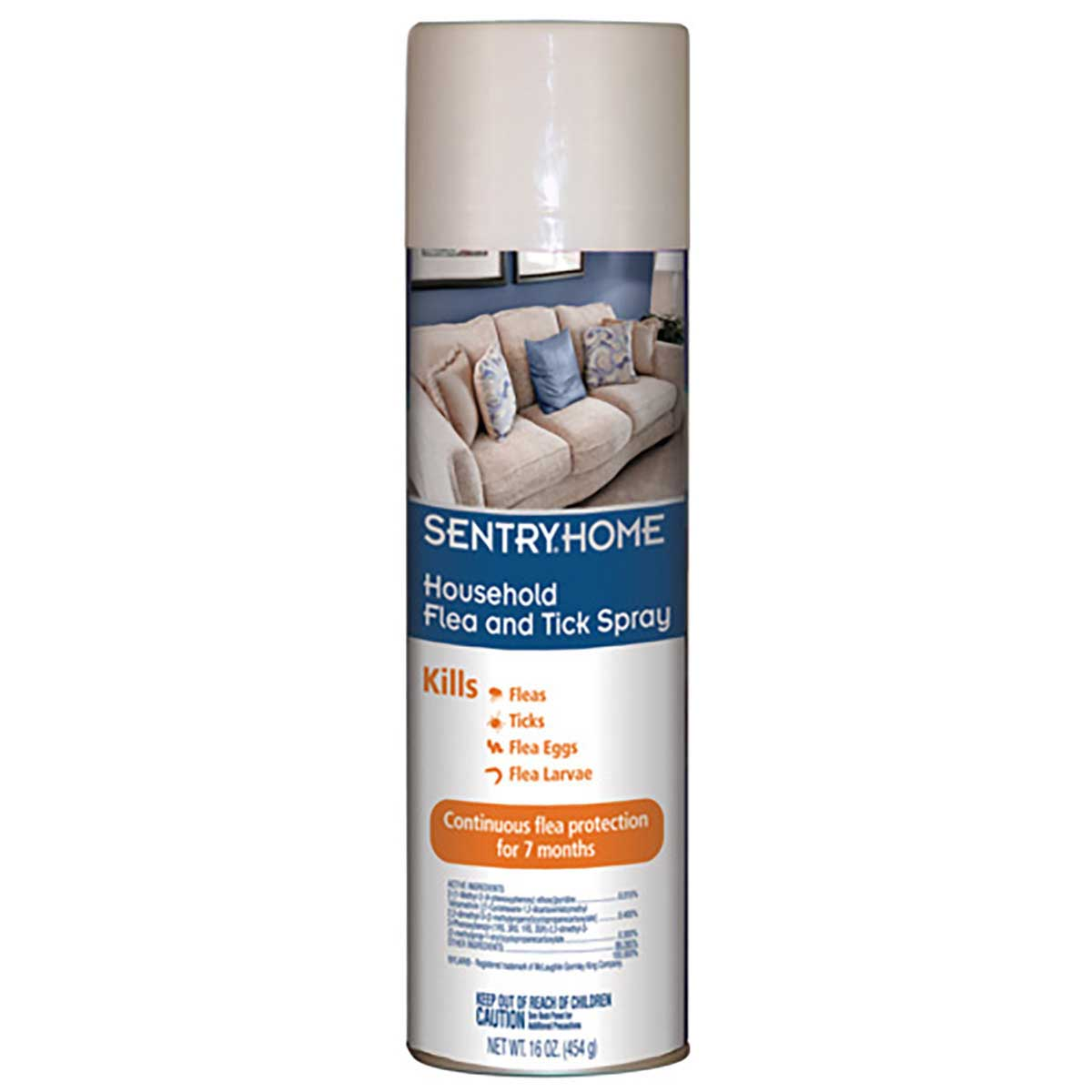 Sentry HOME Household Flea and Tick Spray 16 oz