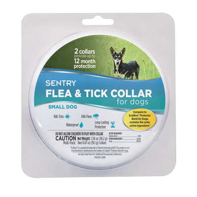 Sentry Premium Flea and Tick Collar for Small Dogs 2 Pack at Ryan's Pet Supplies