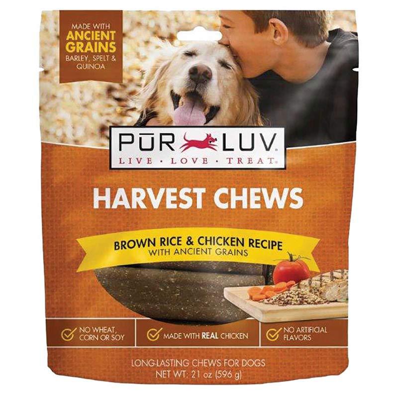 Pur Luv Harvest Chews 21 oz Chicken, Tomato & Carrot