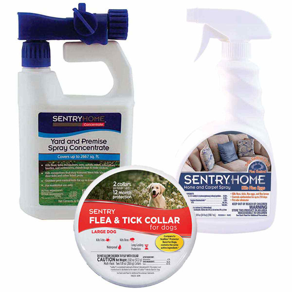 Large Dog Sentry Flea and Tick Prevention PacK