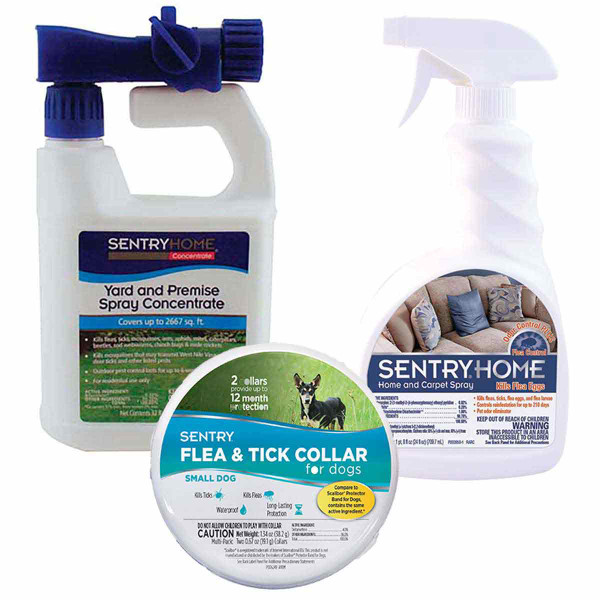 Sentry Flea and Tick Prevention Pack - Small Dog